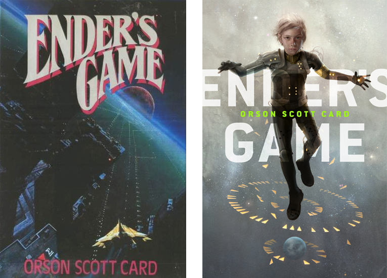 cover love: ender's game