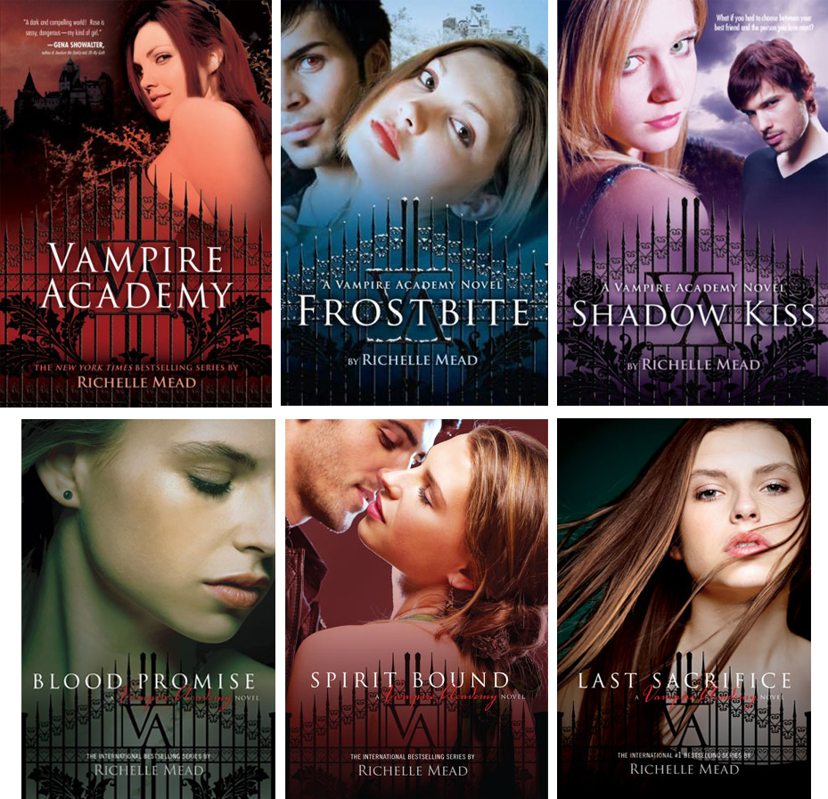 Order of Richelle Mead Books