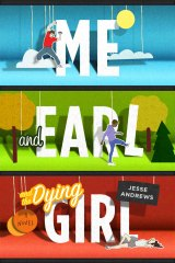 chad beckerman: cover evolution of me and earl and the dying girl