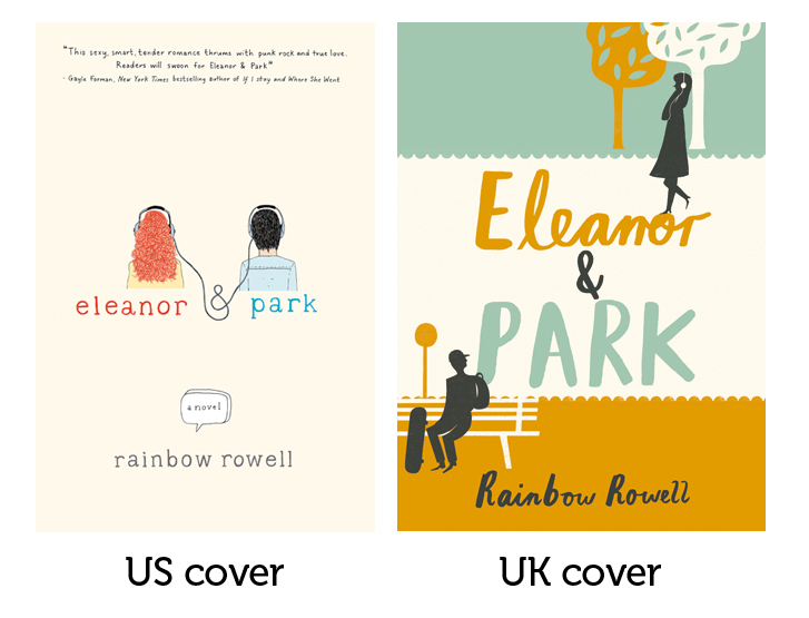 Image result for eleanor and park us vs uk