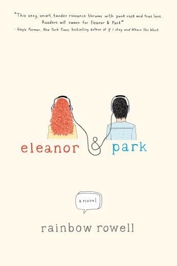 Image result for eleanor and park book cover